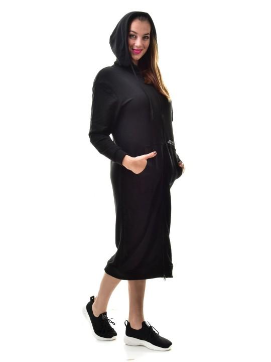 RETRO dlhá mikina dámska Tetty zip