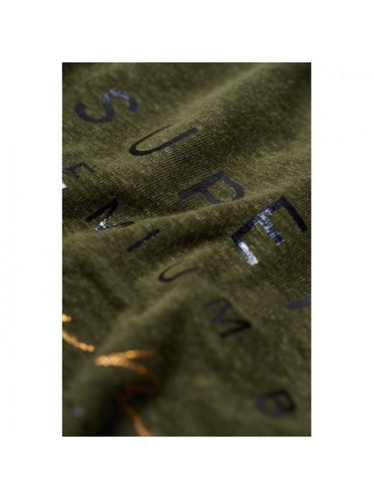 Tričko dámske SUPERDRY lace back graphic top