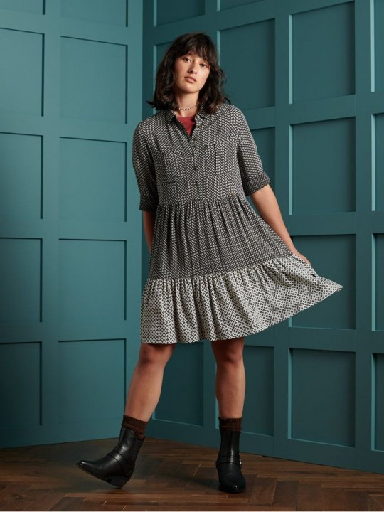 Šaty SUPERDRY Kathryn shirt dress