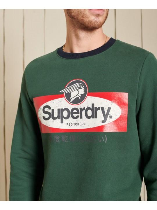 Mikina pánska SUPERDRY Core Logo American Classic Ringer Crew